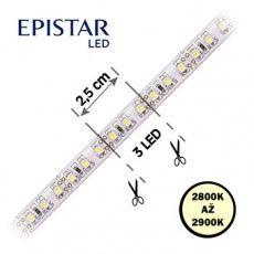 LED pásky  9, 6W,  120LED,  čip 3528