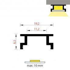 FKU47 - podlahový IP6x