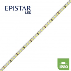 . 720 lm -  9,6W - 120LED 3528/m, 24V,  šíře 5mm