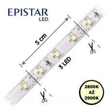 LED pásky  4, 8W,   60LED,  čip 3528