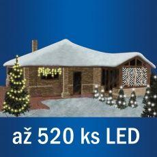 Spojovatelný systém KT až 520ks LED