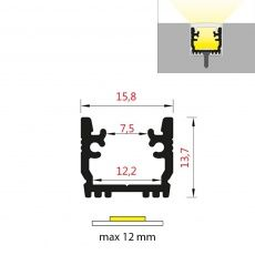FKU48 - podlahový IP6x