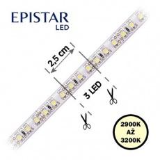 LED pásky 20,0W, 120LED, 2835, IP65