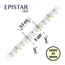 LED pásky 3D,  S-typ,  boční