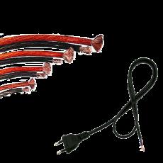 Kabely,  šnůry,  vodiče