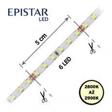 LED pásky  9, 6W,  120LED,  3528