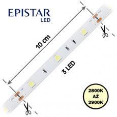 LED pásky  7, 2W,   30LED,  čip 5050