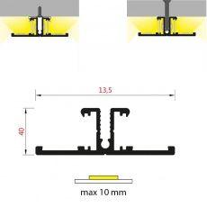 FKU55 - pro nepřímé osvětlení