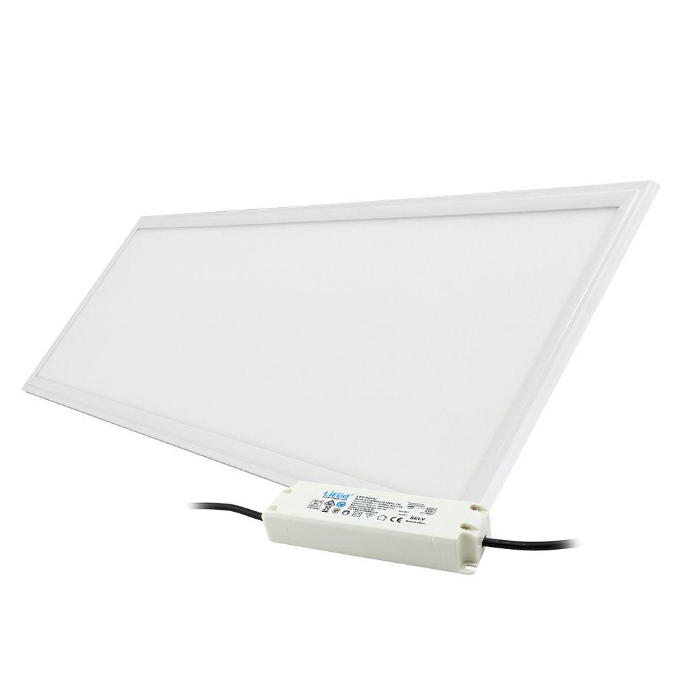 led panel ledpan pro 120 x 30 cm 40w 4000k 4000lm b l stm vateln 1 10v led panely. Black Bedroom Furniture Sets. Home Design Ideas
